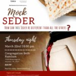 Mock Passover Seder