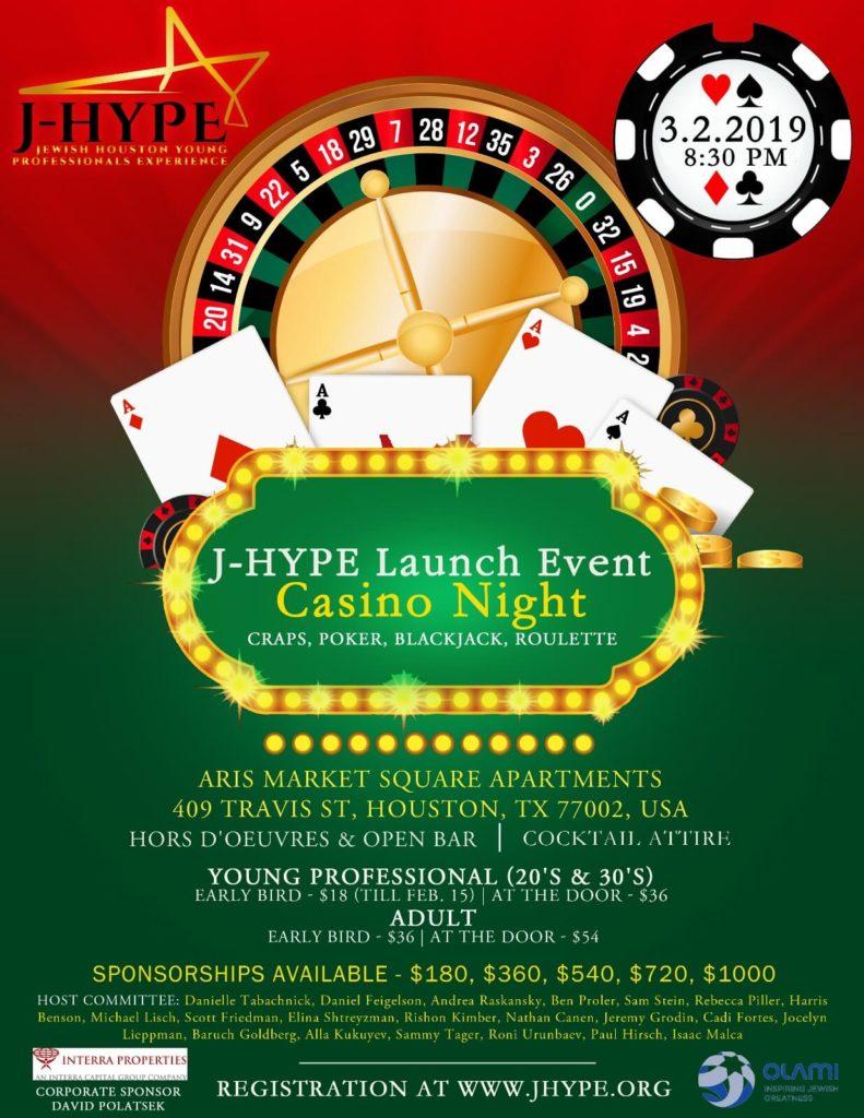 J-HYPE Launch Event – Casino Night