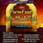 PURIM FEAST IN THE MIDDLE EAST