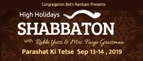 High Holiday Shabbaton