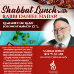 Shabbaton Remebering Rabbi Solomon Maimon