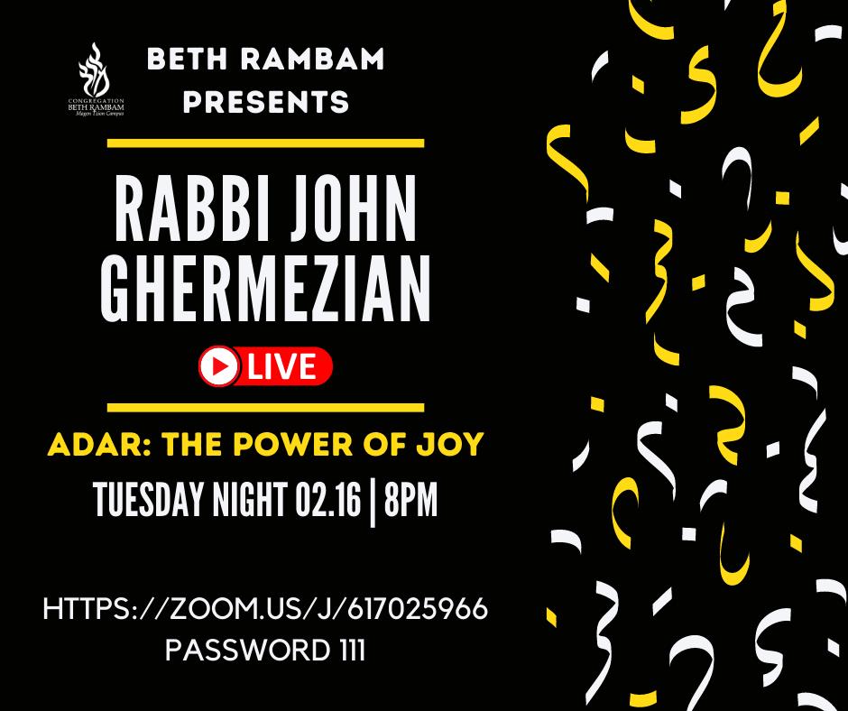 Rabbi John Ghermezian